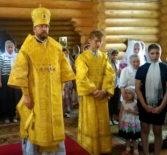 Архипастырь совершил Божественную литургию на Лукинском архиерейском подворье в г.Саранске