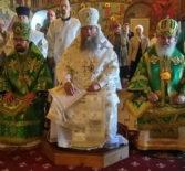 Божественная литургия в в Вознесенском кафедральном соборе г.Мурома
