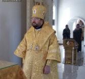 Субботнее архиерейское богослужение в Никольском кафедральном соборе г.Ардатова
