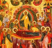 Всенощное бдение в Никольском кафедральном соборе г.Ардатова накануне праздника Успения Пресвятой Богородицы