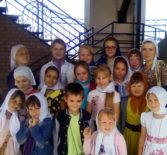 Воспитанники воскресной школы Никольского кафедрального собора г.Ардатова совершили паломническую поездку в Свято-Троицкий мужской монастырь г.Алатырь.