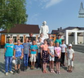 Юная паства Кечушевского прихода активно проводит время летних каникул