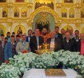 В Никольском храме с.Дубёнки прошёл праздничный молебен мученникам Флору и Лавру