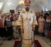 Многочисленая паства и гости епархии поздравили своего Архипастыря с Днем тезоименитства