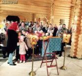 В новопостроенном храме в честь Новомученников и Исповедников Российских г.Ардатова проходят первые богослужения