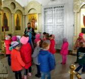 Никольский кафедральный собор г.Ардатова посетили воспитанники ардатовского детского сада «Улыбка»