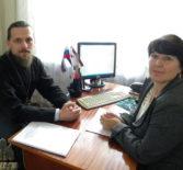 Клирик Ардатовского благочиния посетил детские сады «Колосок» и «Улыбка» г.Ардатова
