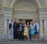 Активная церковно-приходская жизнь во время летних каникул воспитанников воскресной школы Андреевского храма п.Атяшево