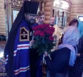 Архипастырь совершил Божественную литургию в Казанском приходе с.Николаевка Дубёнского благочиния