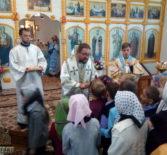 Архипастырь совершил Божественную литургию в храме Рождества Божией Матери с.Поводимово Дубенского благочиния