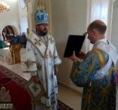 Архипастырь совершил Божественную литургию в Никольском кафедральном соборе г.Ардатова