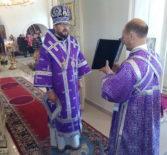 Воздвижение Честного и Животворящего Креста Господня, Архипастырь совершил Божественную литургию в Никольском кафедральном соборе г.Ардатова
