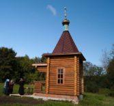 На месте бывшего п.Братство Большеигнатовского района была освящена часовня в честь святителя Николая, Мир Ликийского Чудотворца