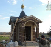 В часовне в честь Архистратига Михаила с.Сосуновка Атяшевского района установили крест