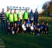 Спортивное мероприятие  по мини футболу среди отцов и детей прошло на школьном стадионе МБОУ «Большеберезниковская ООШ»