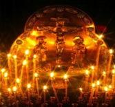 Архипастырь совершил Божественную литургию  и Вселенскую заупокойную панихиду в Никольском кафедральном соборе г.Ардатова