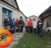 Волонтёры воскресной школы при Кулясовской МБОУ ПСШ №2 со своей учительницей совершили социально-благотворительную акцию