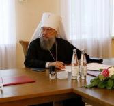 В Саранске состоялось заседание Архиерейского Совета Мордовской митрополии