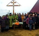 В с.Турдаково Дубёнского района состоялось освящение источника в честь Животворящего креста Господня (Крёст лисьма)
