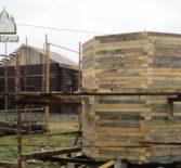 В с.Симкино Большеберезниковского района продолжаются строительные работы по возведению нового храма в честь Рождества Христова