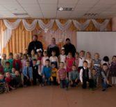 В детском саду «Малыш» Большого Игнатова состоялся утренник, посвященный празднику Покрова Божьей Матери