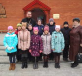 Воспитанники Ардатовской общеобразовательной школы-интерната для детей с нарушением зрения посетили Никольский кафедральный собор