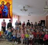 Духовенство первого церковного округа Атяшевского благочиния поздравило воспитанников Атяшевского детского сада № 1 с праздником Собора Небесных Сил бесплотных