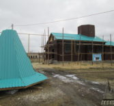 В с.Симкино Большеберезниковского района продолжаются строительные работы по возведению нового храма