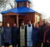 В день памяти Архистратига Михаила в с.Манадыши Ардатовского района было совершено освящение часовни в честь Архангела Михаила