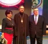 Архипастырь посетил отчетный концерт Атяшевского района, проходящий в рамках фестиваля «Шумбрат, Мордовия!» в Саранском ДК