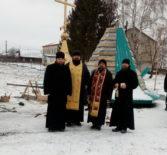 В с.Симкино Большеберезниковского района произошло историческое событие — на новостроящийся храм установили купол с крестом