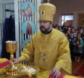 Архипастырь совершил Божественную литургию в Троицком приходе с.Большие Березники
