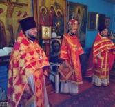 Архипастырь совершил Божественную литургию в Космодамиановском приходе с.Кечушево Ардатовского благочиния