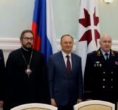 Архипастырь принял участие в Доме Правительства Мордовии во встрече с семьями сотрудников МВД, погибших при исполнении служебного долга
