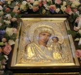 В Свято-Феодоровском кафедральном соборе г.Саранска прошла Божественная Литургия, которую совершили Архипастыри Мордовской митрополии
