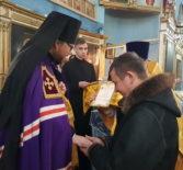 Преосвященнейший Вениамин, епископ Ардатовский и Атяшевский совершил архипастырский визит в Покровский приход с.Марьяновка Большеберезниковского благочиния.