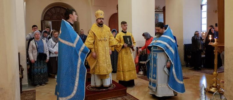 Первый день паломничества на Святой Земле делегации Ардатовской епархии начался  Божественной литургией в Горненском женском монастыре Русской духовной миссии в Иерусалиме