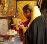 Во второй день на Святой Земле Преосвященнейший Вениамин, епископ Ардатовский и Атяшевский совместно с паломниками молился за Божественной литургией в храме Рождества Христова г.Вифлеема