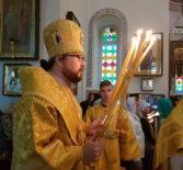 Преосвященнейший Вениамин, епископ Ардатовский и Атяшевский совершил Божественную литургию в Спасо-Вознесенском (Елеонском) женском монастыре г.Иерусалима