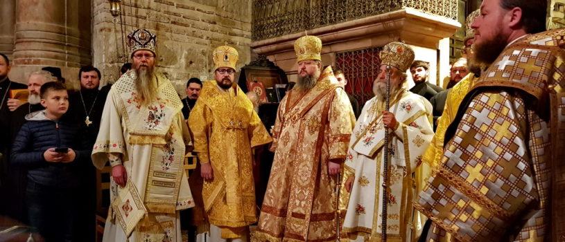 Ночная Божественная литургия у Гроба Господня — величайшей Святыни христианского мира