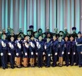 В Ардатовском ДК прошло торжественное посвящение в кадетское движение учащихся 5 класса Ардатовской ООШ