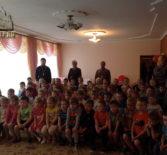 Духовенство первого церковного округа Атяшевского благочиния  посетили Атяшевский детский сад №1 п.Атяшево
