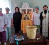 В Ардатовской ЦРБ был отслужен молебен святителю Луке, архиепископу Крымскому