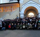 В Макаровском паломническом центре г.Саранска прошло торжественное открытие молодёжного межрегионального образовательного форума «Пересвет»