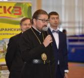 Архипастырь посетил чемпионат по спортивной ходьбе в спортивном комплексе «Мордовия» г.Саранска