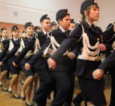 В Дубёнской СОШ прошло торжественное посвящение учащихся 7-х и 10-х классов в кадеты