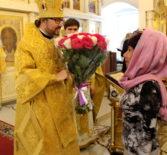 Соборное богослужение перед мощами святителя Николая Чудотворца в Никольском кафедральном соборе г.Ардатова