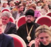 Архипастырь посетил концерт виртузов классической музыки в Музыкальном театре им. И.М. Яушева г.Саранска