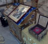 В Никольский кафедральный соборг.Ардатова прибыл ковчег с частицей мощей Святителя Николая, Мирликийского Чудотворца