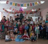 Рождественский утренник в  Большеигнатовском детском саду «Малыш»